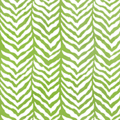 Herringbone bone tweed grass green watercolor
