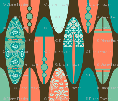 Surfboards on Brown