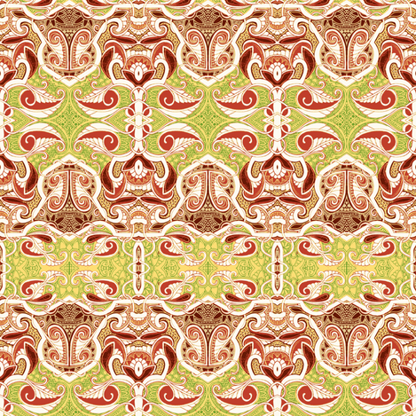 Paisley in Formation to March fabric by edsel2084 on Spoonflower - custom fabric