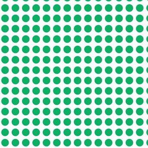 Bright Roses Green Spot