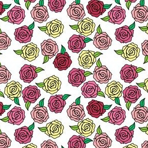 Bright Roses SMALL