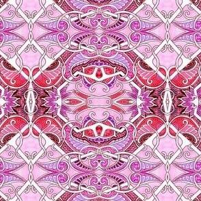 Pink Paisley Gavotte A Lot