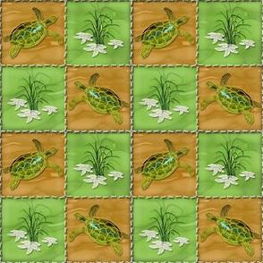 Turtle Patchwork Squares
