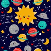 Things In Space - Blue