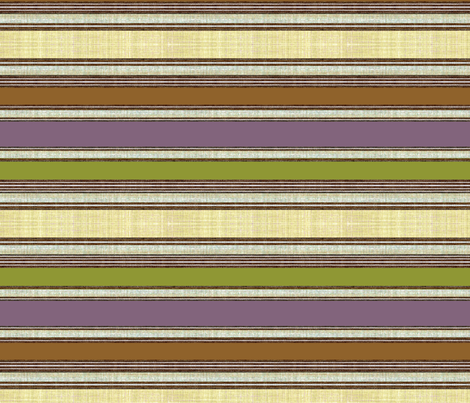 Cabin Stripe wallpaper border fabric by joanmclemore on Spoonflower - custom fabric