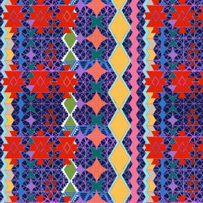aztec universe pattern
