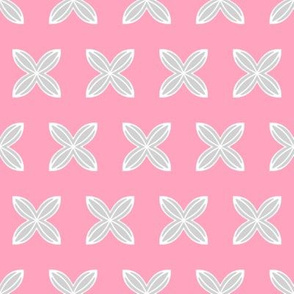 Cuatro Flower in pink