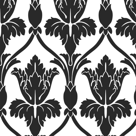 Sherlock Wallpaper Plain Large fabric by fandomfabric on Spoonflower - custom fabric