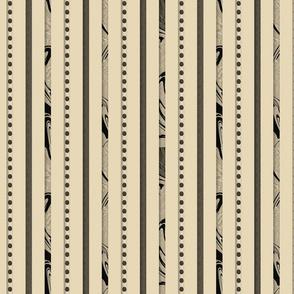 Ewes Like Ecru Stripes