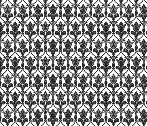 Sherlock Wallpaper Plain Medium fabric by fandomfabric on Spoonflower - custom fabric