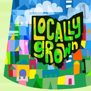 Locally Grown reusable Bag