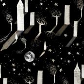 Cosmic City Night