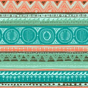 Stripy surfie pattern