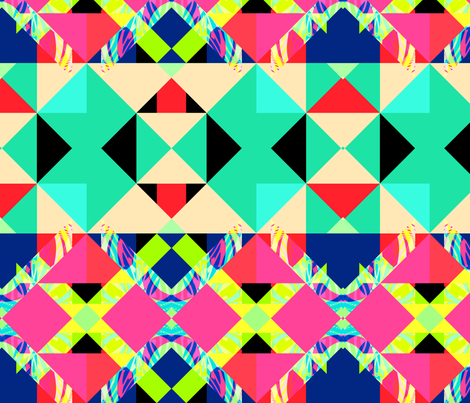 Mix #270 fabric by ornaart on Spoonflower - custom fabric