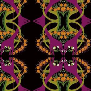 double headed alien lilies