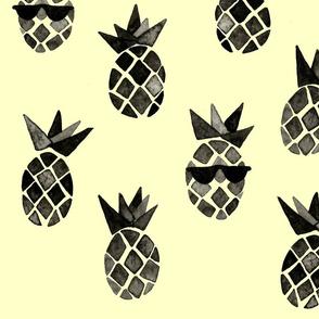 Yellow Cool Pineapple