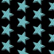 Aqua Dotty star