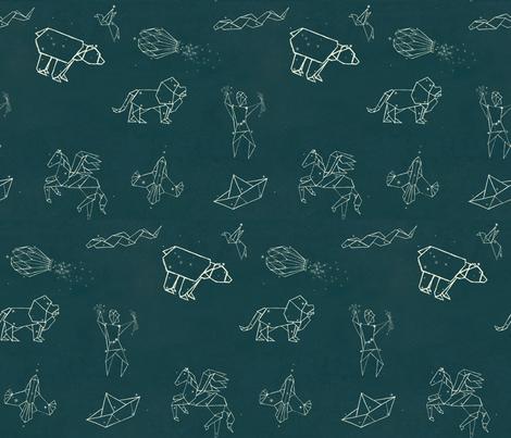 orion's star map fabric by monkeysandwich on Spoonflower - custom fabric