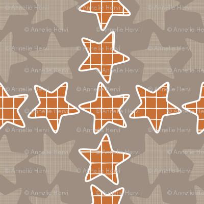 Plaid Checker Stars