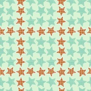 Mint Checker Stars