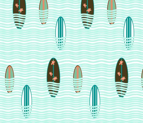 surf2 fabric by imfeelincrafty on Spoonflower - custom fabric