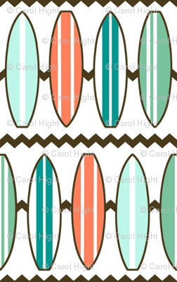 Surf Board Fabric
