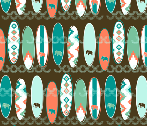 Moroccan Surf fabric by mrshervi on Spoonflower - custom fabric