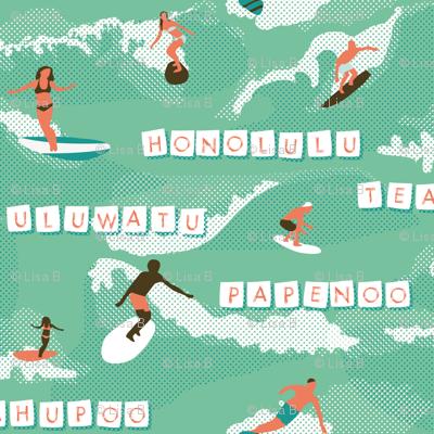 polynesian waves !