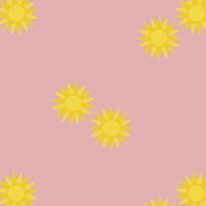 dessert sun pink