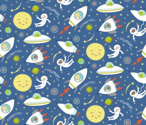 Cosmic Voyage 3000 fabric by pattyryboltdesigns on Spoonflower - custom fabric
