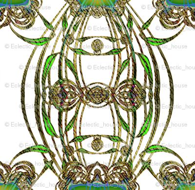 Green Glass Terrarium
