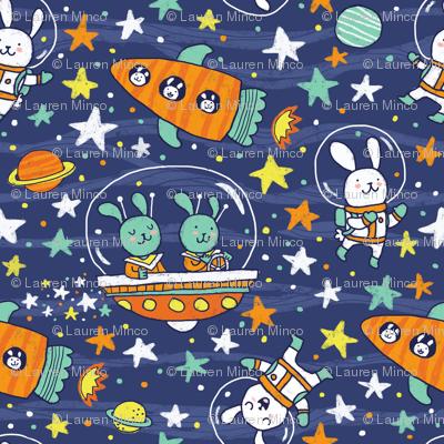 Bunnies in Space