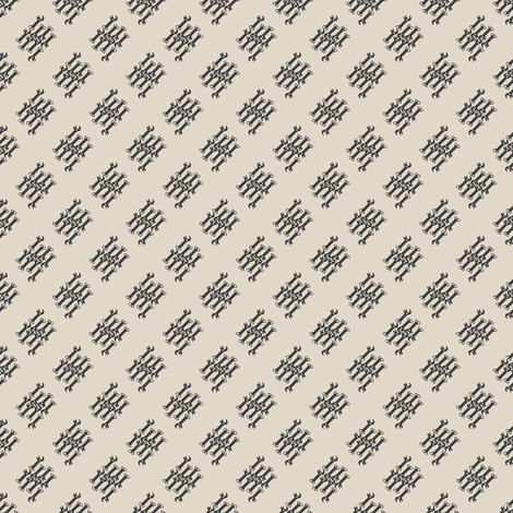 key! beige fabric by gasponce on Spoonflower - custom fabric