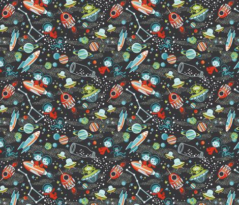 Cosmic Adventure fabric by cjldesigns on Spoonflower - custom fabric