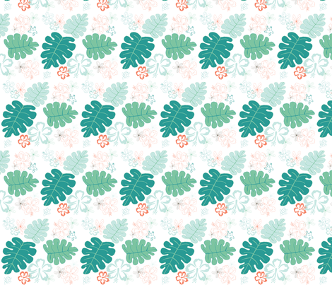 Hawaiian Holiday fabric by pamela_hamilton on Spoonflower - custom fabric