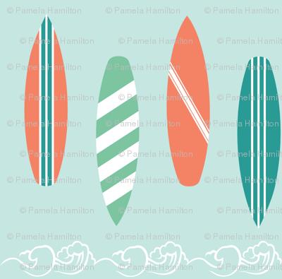 Surf Line Blue
