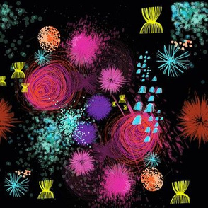 Cosmic-Fireworks