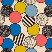 Memphis Inspired Pattern 5