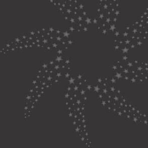 Spiral Stars_black