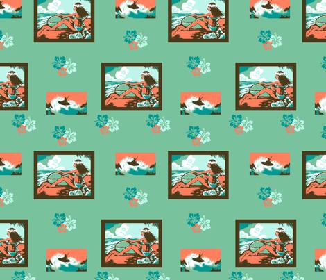 Hawaii Surf Fun fabric by bireaux on Spoonflower - custom fabric