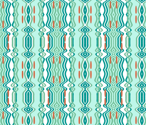Surf fabric by tracydarnell on Spoonflower - custom fabric