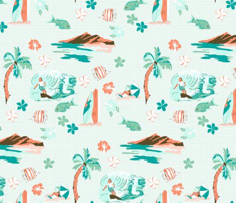 Hawaiian Shirt fabric by mbsterling on Spoonflower - custom fabric