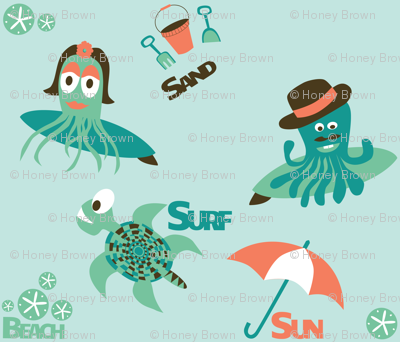 Surfing Sea Creatures