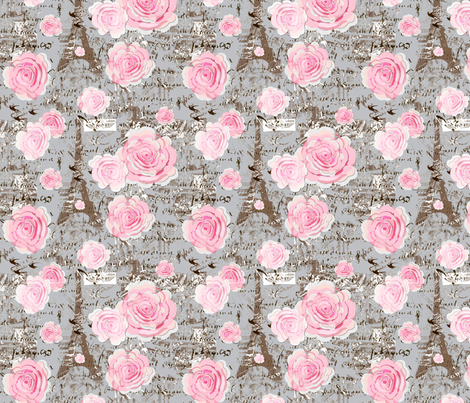Paris Chic fabric by karenharveycox on Spoonflower - custom fabric