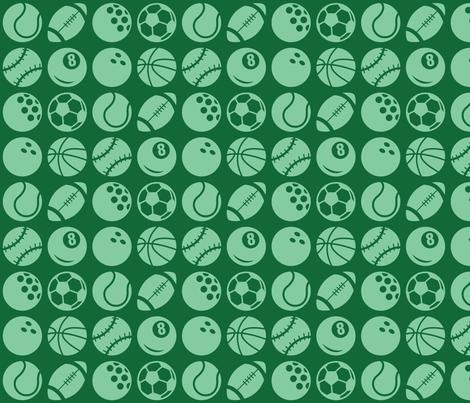 Sports fabric by studiofibonacci on Spoonflower - custom fabric