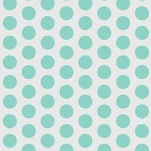 Color dots-mint