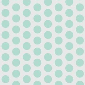 Color dots-mint-l