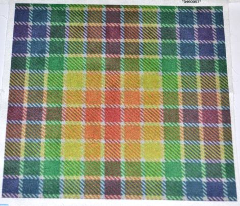 Rainbow Plaid 1