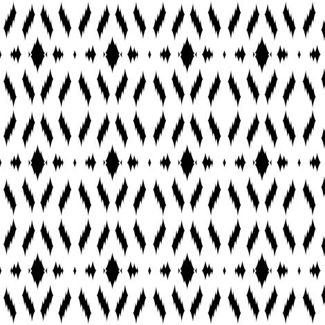 ikat aztec print fabric by coramaedesign on Spoonflower - custom fabric