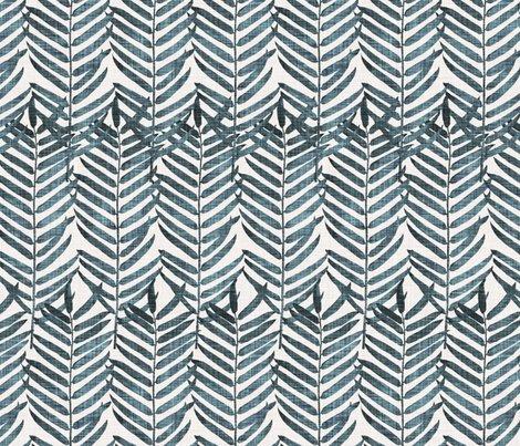 Rpalm_fronds-_blue_linen_warm_shop_preview